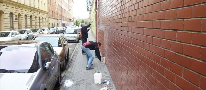 Nátěr proti graffity - prevence v Praze