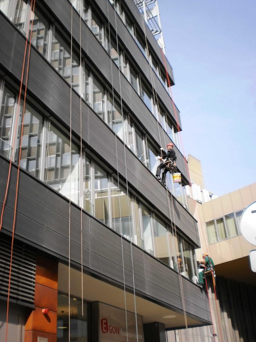 Výškové práce - mytí oken a nanoimpregnace Praha