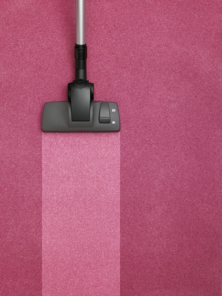 čištění koberců kartáčováním